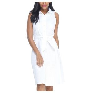 LONDON TIMES CRAWFORD SHIRT DRESS